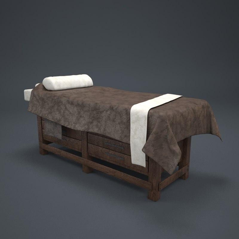 3d massage bed