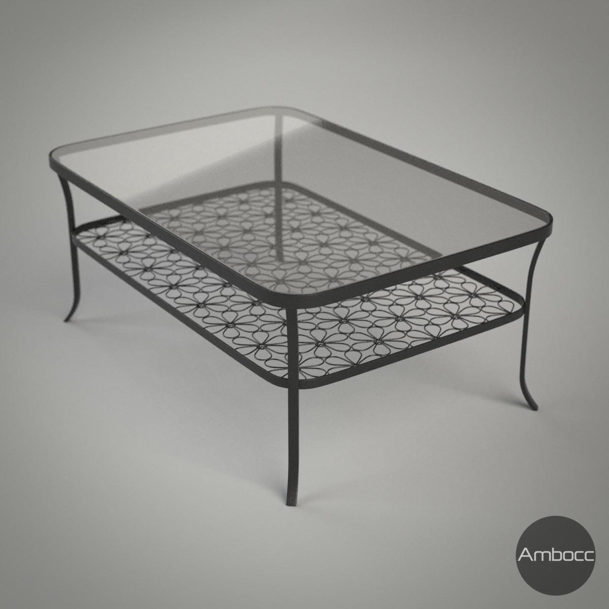 3d model ikea klingsbo coffee table