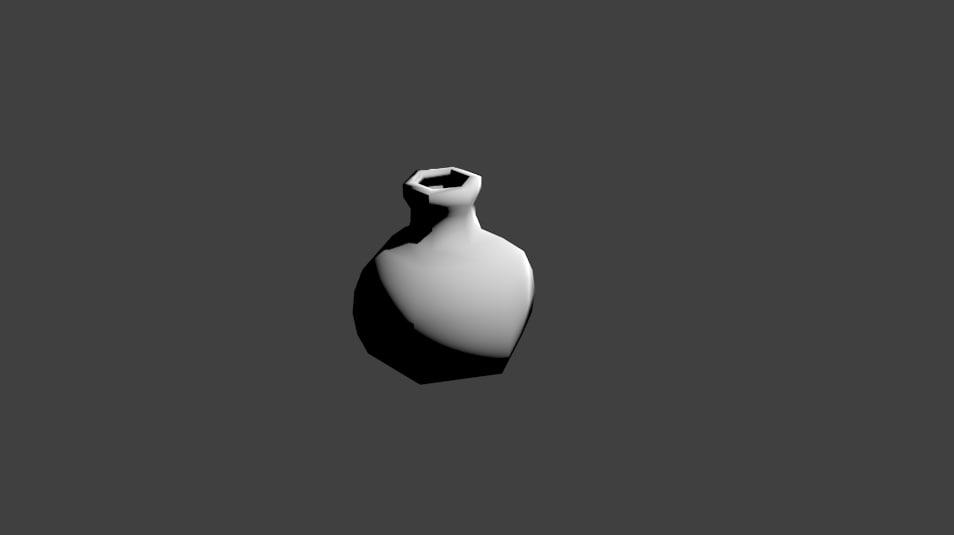 3d potion model