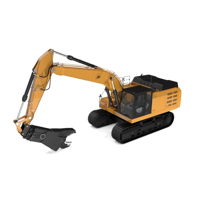 max track mobile scrap demolition