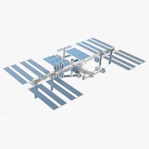 3d international space station