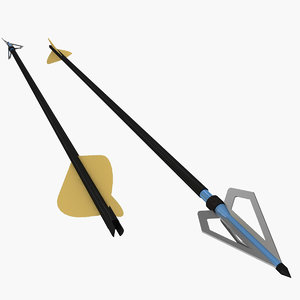 arrow head broad 3ds