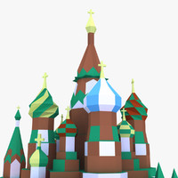 3d model saint basil s cathedral