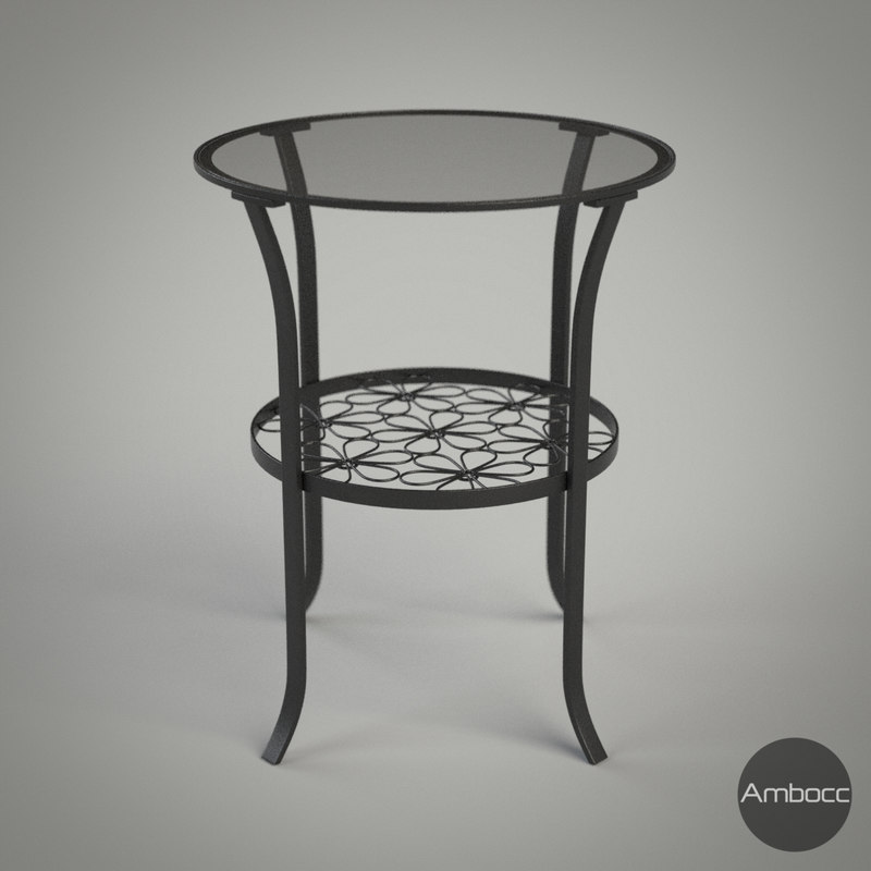 3d model ikea klingsbo table black