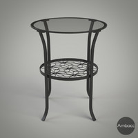3d ikea klingsbo table black