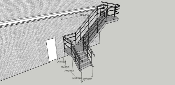 Stair SketchUp Models for Download | TurboSquid