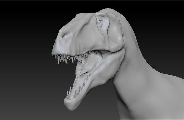 megalosaurus dinosaur 3d model
