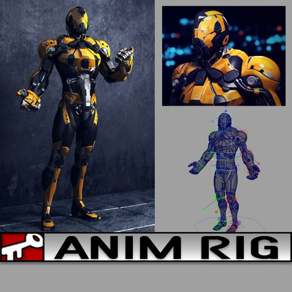 3d animate rig 2014