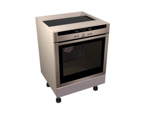 3d oven housing based carcasse