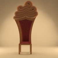 3d max royal chair