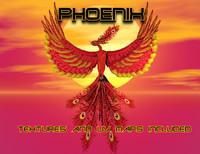 phoenix bird 3d obj