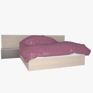 v-ray bed 3d max