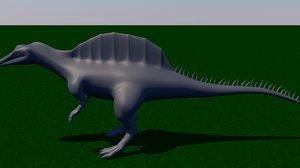 dinosaur big spinosaurus c4d