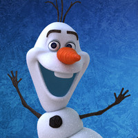 olaf characters frozen 3d max