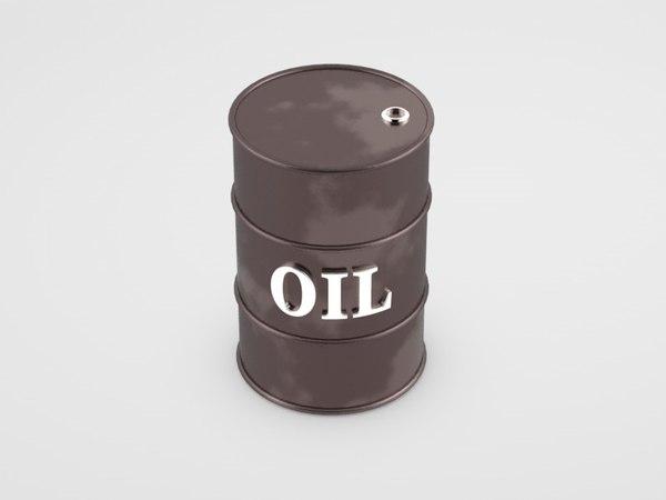 c4d oil tank