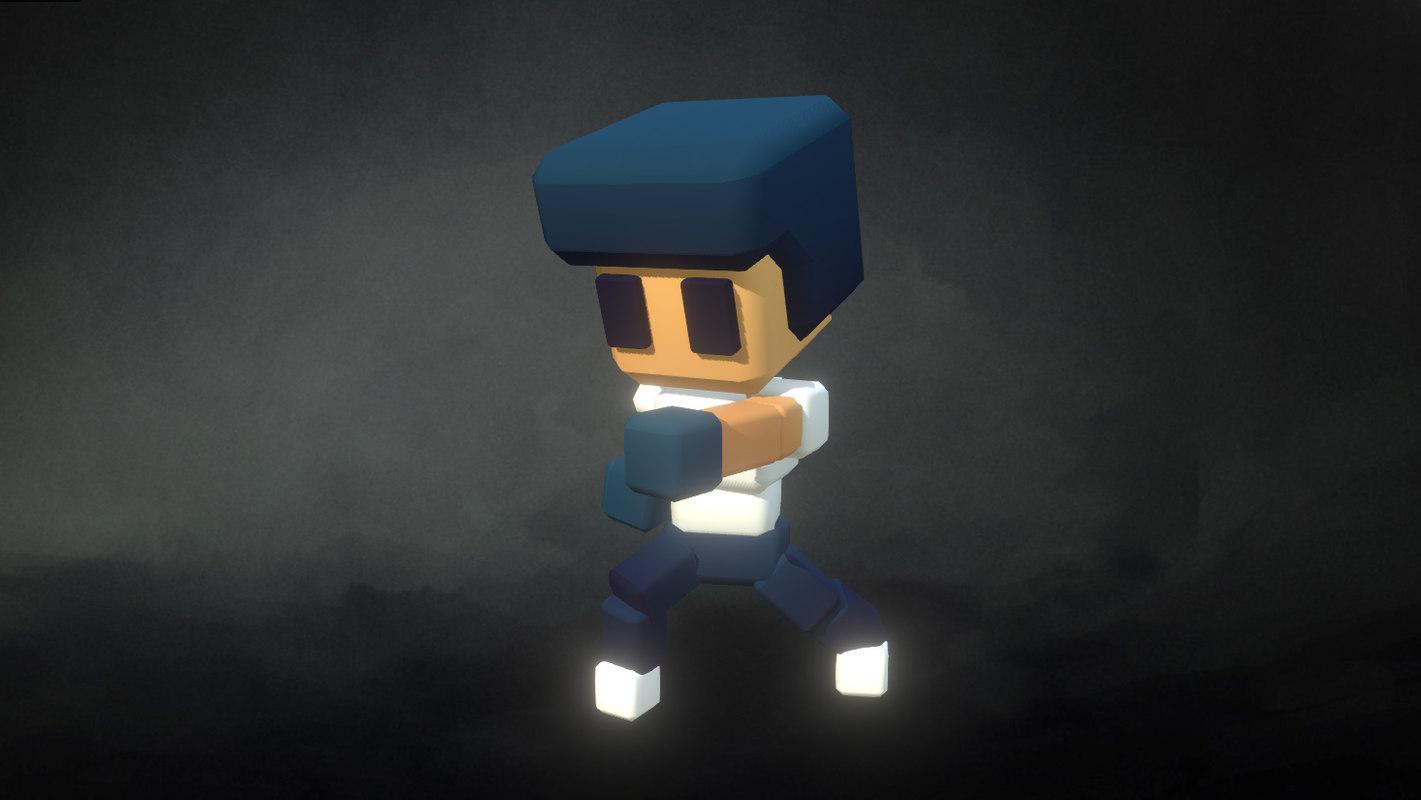 3d model character proto