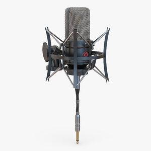 condenser microphone generic 3d 3ds