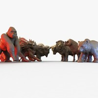scan sabre tooth 3d max