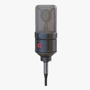 3d condenser microphone generic 3 model