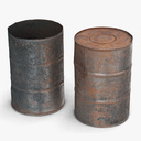 barrel 3D models