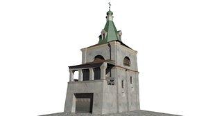 3d kiev church model