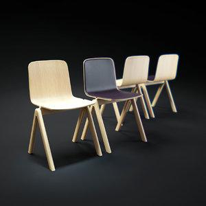 3d hay-cph-chair model