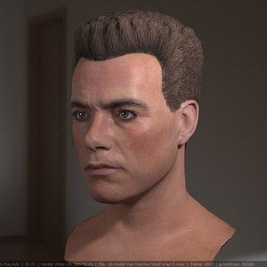 jean van damme head male max