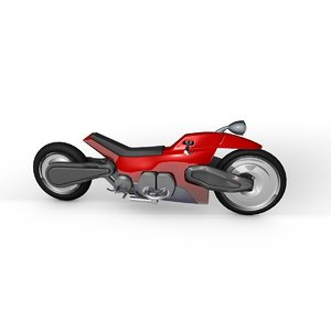 c4d motorcycle cycle