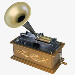 edison home phonograph 3ds