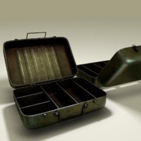Military metall box