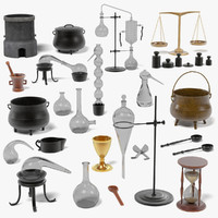 alchemy tools large 3d model