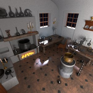 3d obj alchemy lab