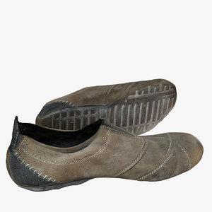 casual shoe c4d