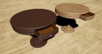 3d bar table model