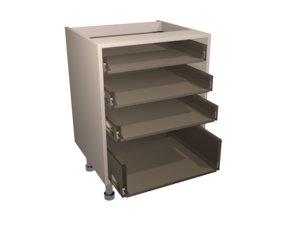 3d model drawer base carcasse kitchen