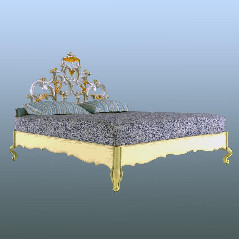 cafissi 3026 bed 3d model