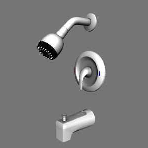 shower head set faucet obj