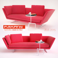 max zeus sofa flexform