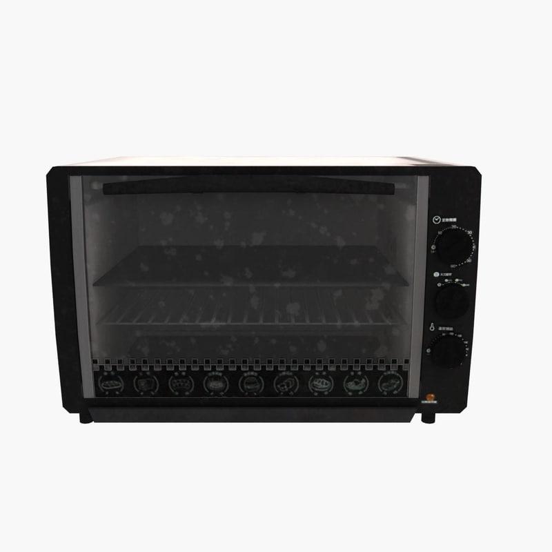 3d oven model