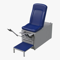3d exam table generic