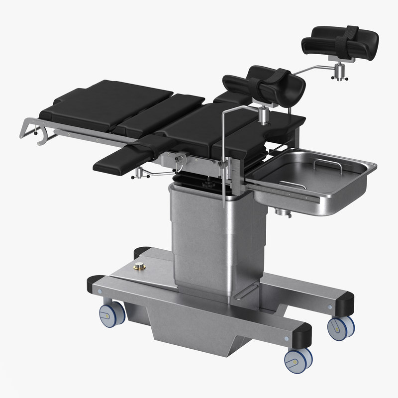 Medical Electric Gynecological Operating Table Generic 3d model 00.jpg
