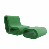 Other one sofa with pouf by Hay