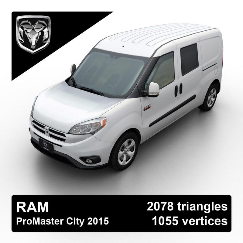 max 2015 ram promaster city