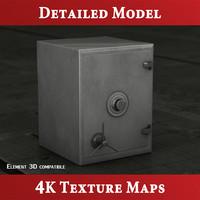 3d model safe storage