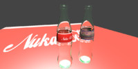 3d nuka cola quantum model