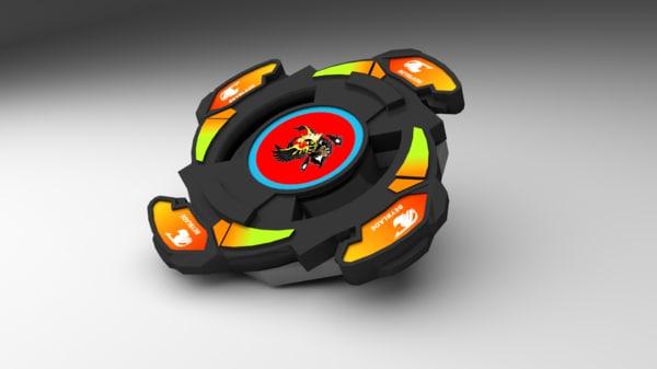 free obj mode beyblade toy