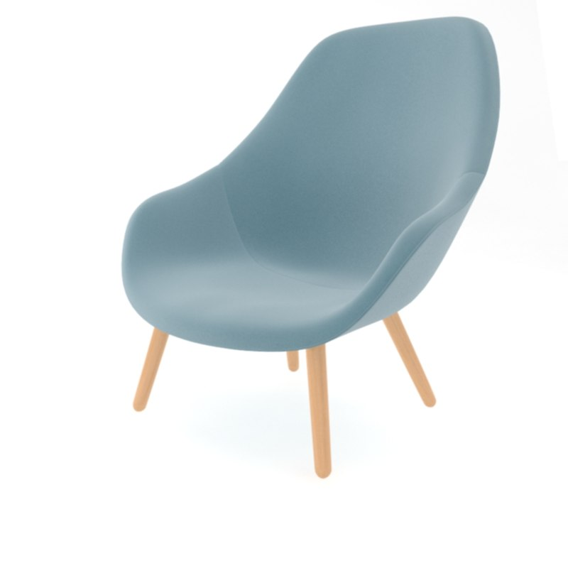 lounge chair aal92 max