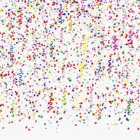 3d confetti model