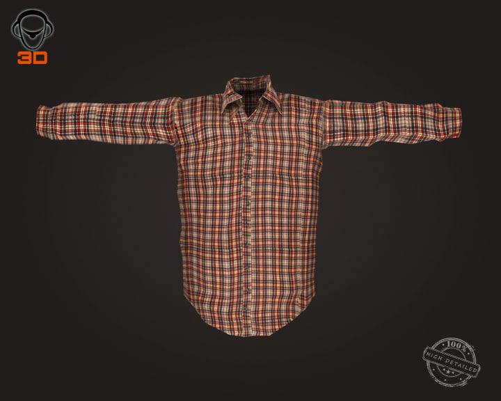 3ds man shirt