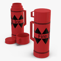 3d model of thermos
